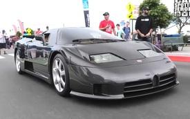 Đây là chiếc siêu xe Bugatti độc nhất vô nhị trong lịch sử, tỷ lệ bắt gặp thấp hơn trúng xổ số