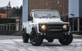 Chiếc bán tải Land Rover Defender siêu độc có giá ngang Mercedes-Benz C-Class