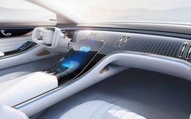 Mercedes nhá hàng nội thất EQ Concept đối đầu Porsche Taycan: Đậm chất xe tương lai