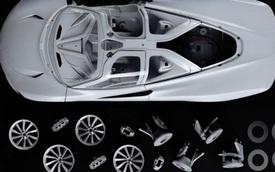 Mô hình siêu xe McLaren Speedtail 1:8 giá ngang Hyundai Accent mua mới nhưng câu chuyện phía sau mới thu hút
