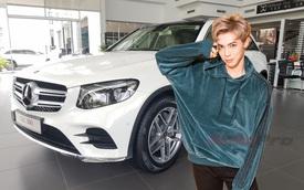Sau khi mượn Range Rover Evoque của Đức Phúc, Erik chốt mua... Mercedes-Benz GLC 300