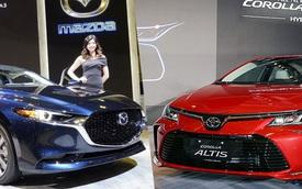 Toyota Corolla Altis vs Mazda3: Cuộc đua gay cấn về Việt Nam của hai 'bom tấn'