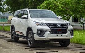 Toyota Fortuner bản thể thao TRD chốt giá gần 1,2 tỷ đồng