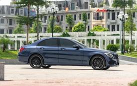 Mercedes-Benz C300 AMG độ kiểu C63 S được rao bán ngay sau lần thay dầu đầu tiên