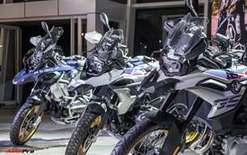 THACO giới thiệu 3 mẫu mô tô địa hình BMW Motorrad tại Việt Nam, giá dự kiến từ 629 triệu đồng