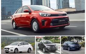 Nếu muốn tạo đột biến về doanh số trên thị trường xe trong nước, trước hết Kia Soluto cần phải vượt qua những đối thủ này