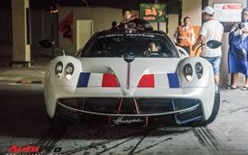 Đại gia Minh 'Nhựa' trưng bày siêu xe Pagani Huayra đắt nhất Việt Nam tại tiệc cưới của cô con gái đầu lòng