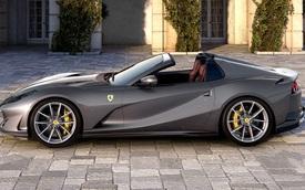 Ra mắt Ferrari 812 GTS - Mui trần mạnh nhất của Ferrari với 789 mã lực, tốc độ tối đa 340 km/h