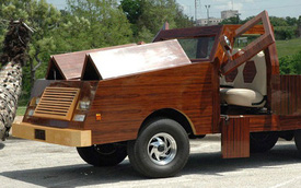 """Sau 5.000 giờ chế tạo """"siêu xe"""" bằng gỗ chạy êm như xe hàng hiệu"""