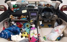 Sốc: Nội thất ô tô là một trong những nơi bẩn nhất trên trái đất
