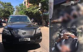 Ô tô Lexus biển 6666 lao vào đám tang làm 2 người chết, nhiều người bị thương nằm la liệt