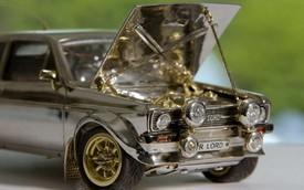 Mất 25 năm để sản xuất ôtô bằng kim cương và vàng