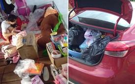 Hình ảnh chiếc Kia Cerato chở ngập đồ khiến người ta sửng sốt về cuộc sống của học sinh nội trú