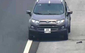 Xe ôtô đi lùi, chạy ngược chiều cao tốc sẽ bị phạt từ 16-18 triệu đồng