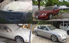 Xót xa loạt siêu xe Bentley bị bỏ xó phủ đầy bụi ở Việt Nam