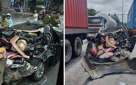 Hiện trường vụ tai nạn ở Hải Phòng khiến nhiều người ám ảnh, tài xế thoát nạn đầy may mắn