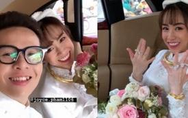 Đại gia Minh 'Nhựa' thể hiện đẳng cấp trong đám cưới con gái: 15 siêu xe gần 100 tỷ hộ tống, ái nữ đeo sính lễ vàng và kim cương mỏi tay