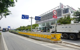 Dải phân cách chống lật xe đầu tiên ở Sài Gòn có gì đặc biệt?