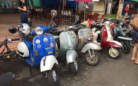 Ngắm loạt Vespa 60 năm tuổi, Honda Super Cub cổ tuyệt đẹp ở Sài Gòn