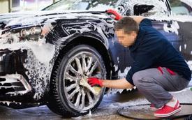 Những sai lầm tai hại khi tự rửa ô tô tại nhà