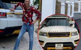 """Huấn """"hoa hồng"""" rao bán Range Rover hơn 7 tỷ mạ vàng 24k sau gần 2 tháng đi cai nghiện bắt buộc?"""