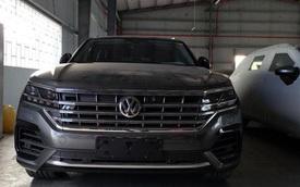 Tịch thu ô tô Volkswagen có bản đồ đường lưỡi bò