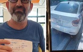 """Tài xế taxi """"chặt chém"""" khách Tây 960k cho quãng đường 5km bị xử phạt 4,7 triệu đồng, tước giấy phép lái xe 2 tháng"""