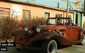Bất ngờ với chiếc xe Mercedes làm từ gỗ chạy được 90km/giờ