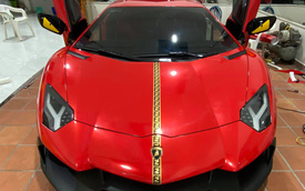 Lamborghini Aventador độ phiên bản kỷ niệm 50 năm lột xác, đại gia chọn phong cách chưa từng có tại Việt Nam