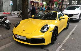 Porsche 911 Carrera S Cabriolet đầu tiên tại Việt Nam chính thức có biển số