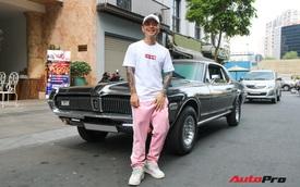 Bắt gặp xế cổ tiền tỷ của rapper Binz với diện mạo mới cực độc