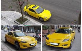 Hàng hiếm Mazda RX-8 được rao bán với màu độc, giá ngang ngửa Hyundai Grand i10