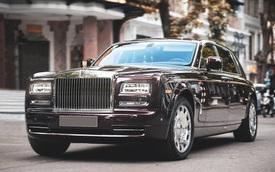 Cận cảnh Rolls-Royce Phantom 'Hòa bình Vinh quang' độc nhất vô nhị với logo ông ba mươi của đại gia Việt
