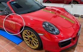 Dân chơi 'lột xác' Porsche 911 Targa 4 GTS đầu tiên Việt Nam: 'Bắt trend' Gucci kiểu dân sành mới biết, thay mâm hàng độc gây chú ý
