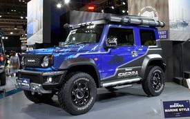 """Suzuki Jimny hoá """"nhà di động"""" với trần xe kiểu Rolls-Royce"""
