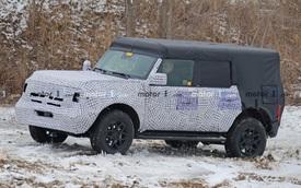 Ford Bronco lộ vóc dáng hoàn chỉnh lần đầu tiên