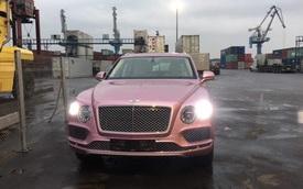 'Khui công' Bentley Bentayga màu sơn hồng nữ tính độc nhất tại Việt Nam