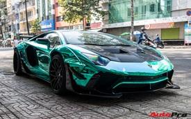 Cận Tết Nguyên Đán, đại gia Vũng Tàu chia tay siêu phẩm Lamborghini Aventador độ Liberty Walk phiên bản giới hạn