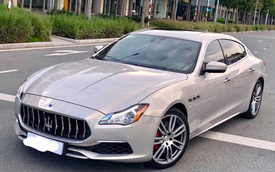 """Mới đăng kí được 2 năm, Maserati Quattroporte xuống giá """"rẻ bằng nửa giá trị xe mới"""""""
