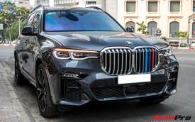 BMW X7 đầu tiên ra phố Sài Gòn với chi tiết cản trước gây chú ý