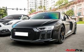 Audi R8 V10 Plus từng của doanh nhân Nguyễn Quốc Cường tiếp tục thay 'áo mới' đón Tết Nguyên đán