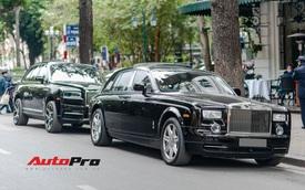 Bộ 3 xe siêu sang của đại gia Hà thành hội ngộ, chiếc nào cũng có chi tiết đặc biệt