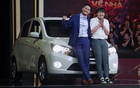 Duy Khánh - Huy Khánh trúng xe Suzuki gần nửa tỷ đồng trên gameshow