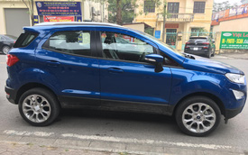 Lộ diện Ford EcoSport 2020 tại Việt Nam: Gỡ bỏ lốp dự phòng gây tranh cãi, thêm tính năng để đòi lại ngôi vương từ Hyundai Kona