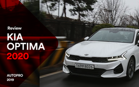 Đánh giá Kia Optima 2020 sắp về Việt Nam: Chỉ mong THACO không cắt bỏ option nào và định giá tốt để đấu lại Toyota Camry
