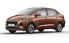 Hyundai ra mắt mẫu Aura dựa trên nền tảng của i10