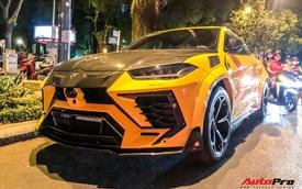 Lamborghini Urus độ khủng hơn chiếc của đại gia Minh 'nhựa' xuất hiện trên phố Sài Gòn ngày đầu năm mới