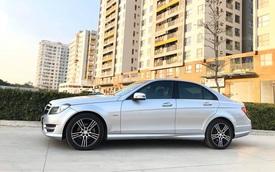 Chạy chưa tới 7.000 km/năm, Mercedes-Benz C200 2014 giữ giá cao ngang Mazda3 2019 'đập hộp'