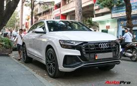 Cất siêu xe, chồng Diệp Lâm Anh xuống phố với Audi Q8 được trang bị gói phụ kiện ngàn USD