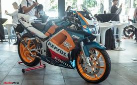 Biker Sài Gòn lột xác huyền thoại Honda NSR 150 cũ kỹ từ vài chục triệu thành bản độ hơn 200 triệu đồng 'nức lòng' dân chơi Việt